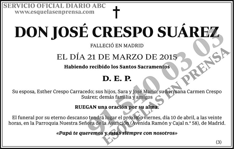 José Crespo Suárez